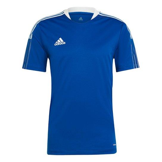 Camisa Adidas Tiro 21 Masculina - Azul Royal
