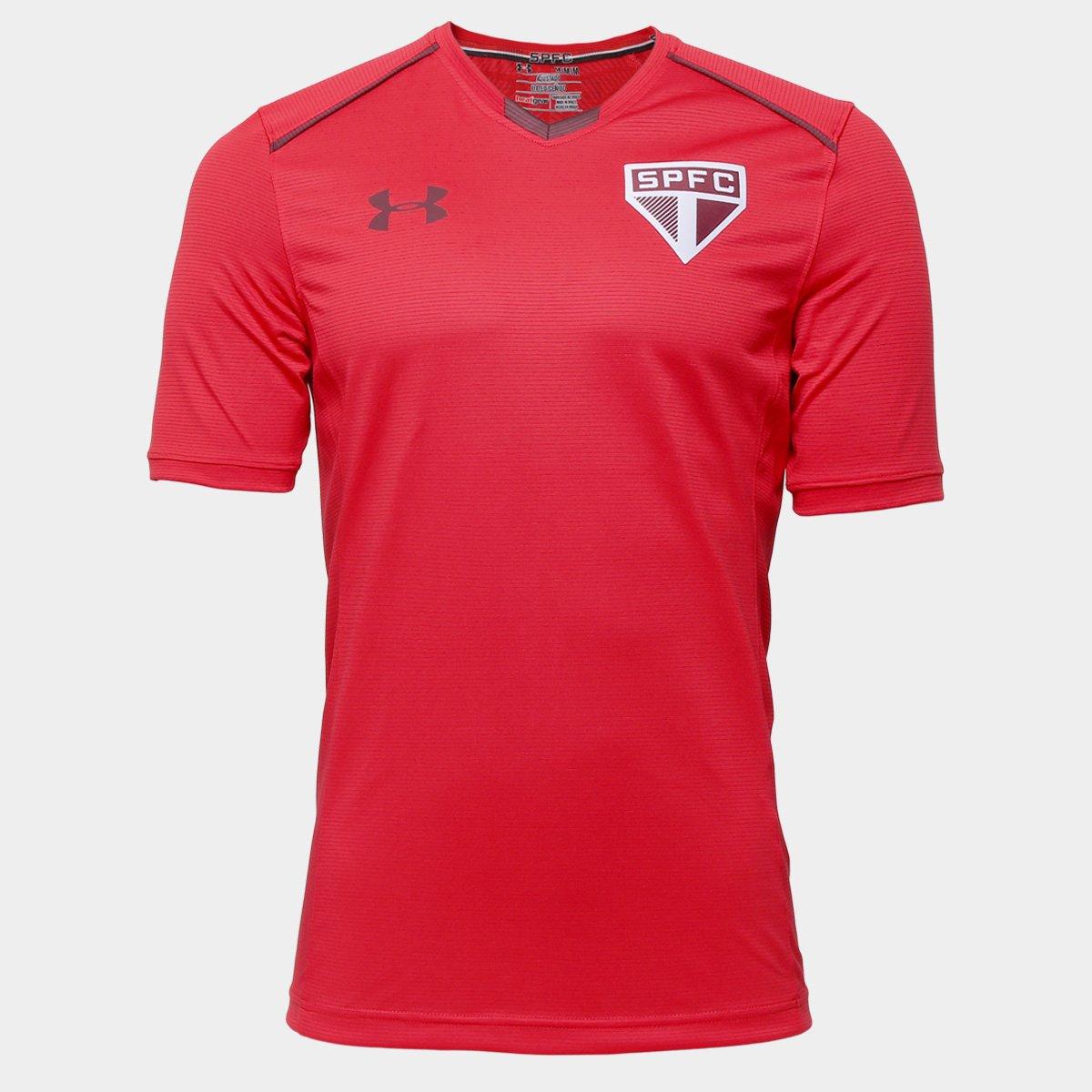 6b45bd0d380 Camisa de Treino São Paulo 17 18 Under Armour Masculina - Compre Agora