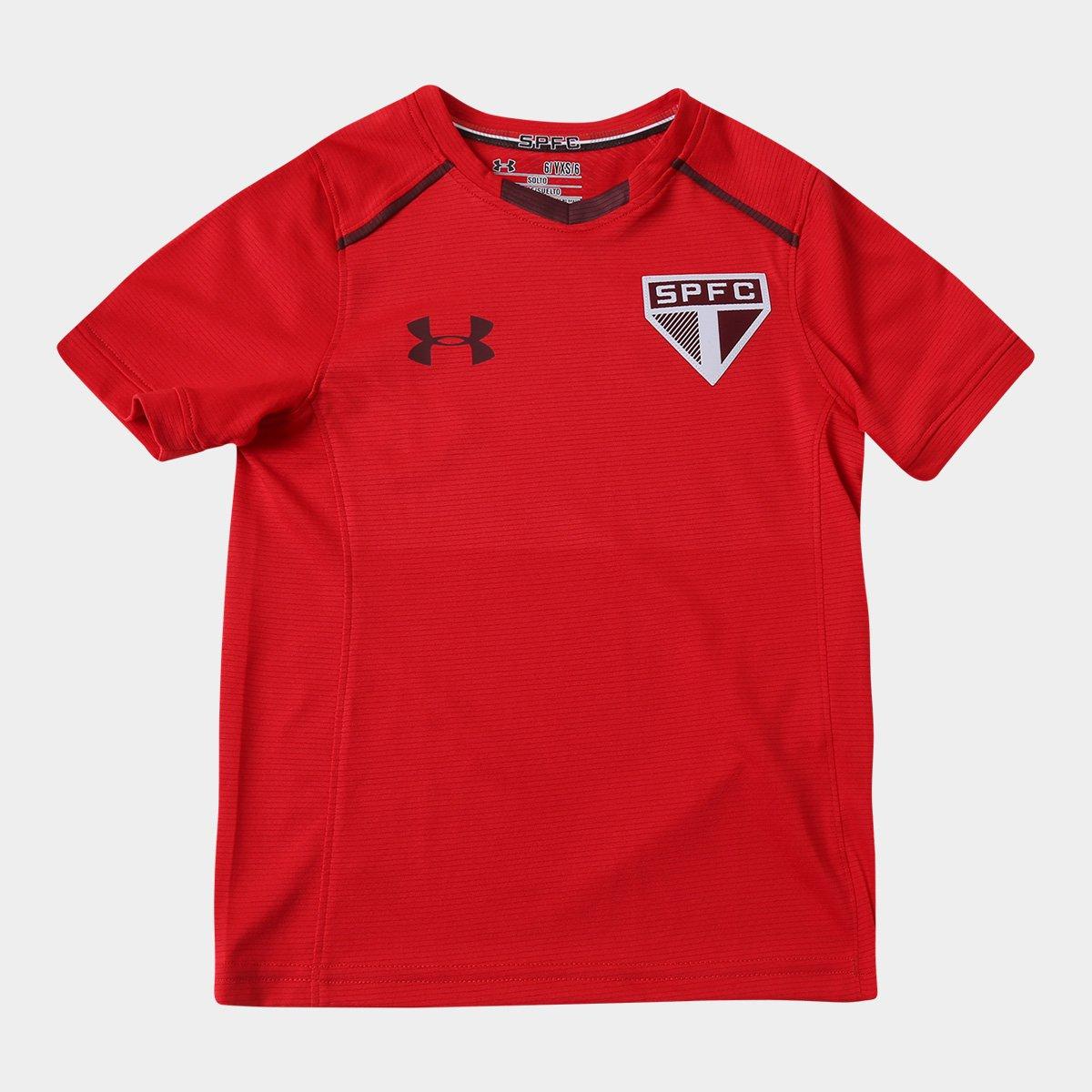 d67c6e8eafd Camisa de Treino São Paulo Infantil 17 18 Under Armour - Compre Agora