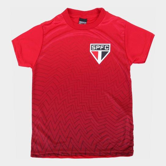 Camisa Infantil São Paulo Bryan - Vermelho