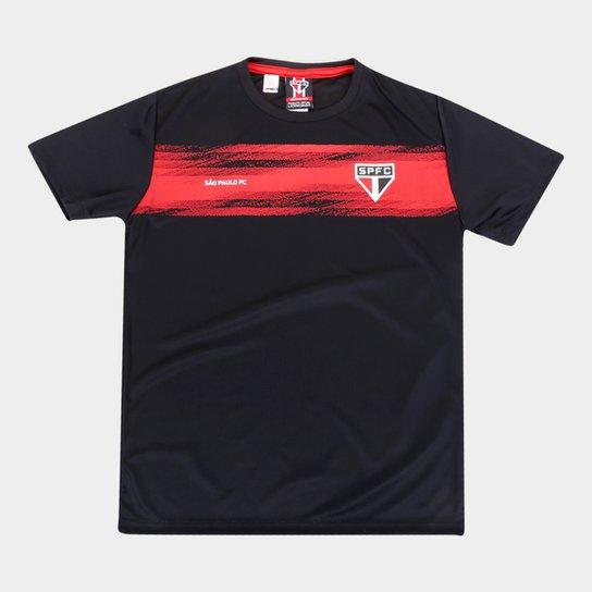 Camisa Infantil São Paulo Chain - Preto