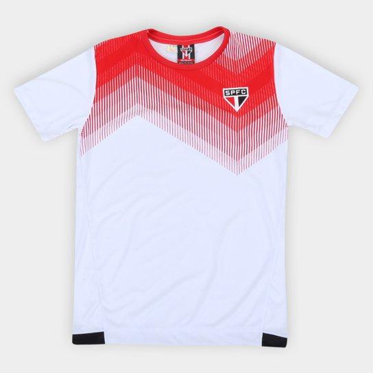 Camisa Infantil São Paulo Contact - Branco