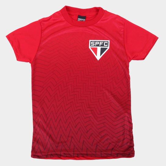 Camisa Juvenil São Paulo Bryan - Vermelho