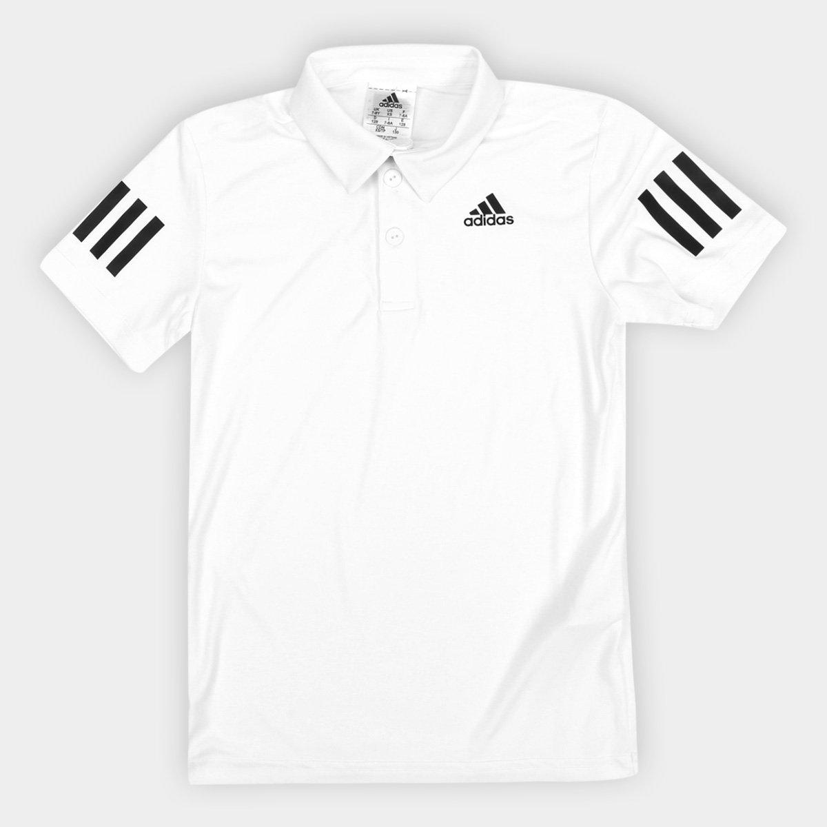 d838820c9fd Camisa Polo Infantil Adidas B Club Proteção UV Masculina - Compre Agora