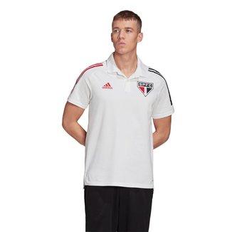 Camisa Polo São Paulo 20/21 Adidas Masculina