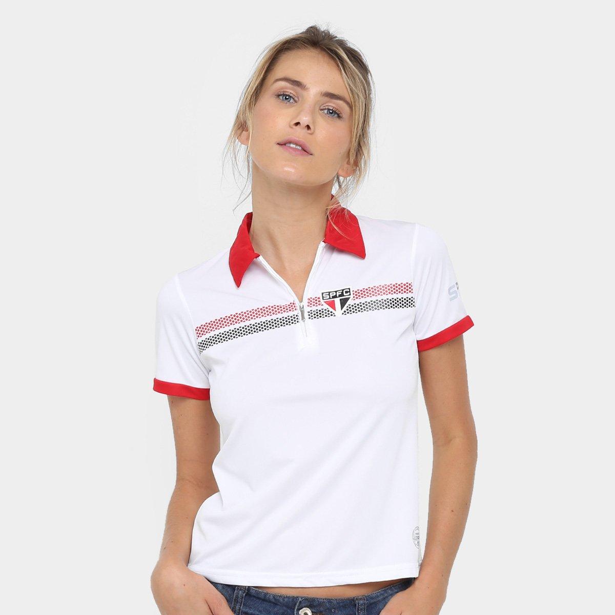117a61047 Camisa Polo São Paulo Dry Logo SPFC Feminina - Compre Agora
