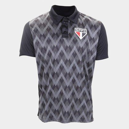 Camisa Polo São Paulo Kaye Masculina