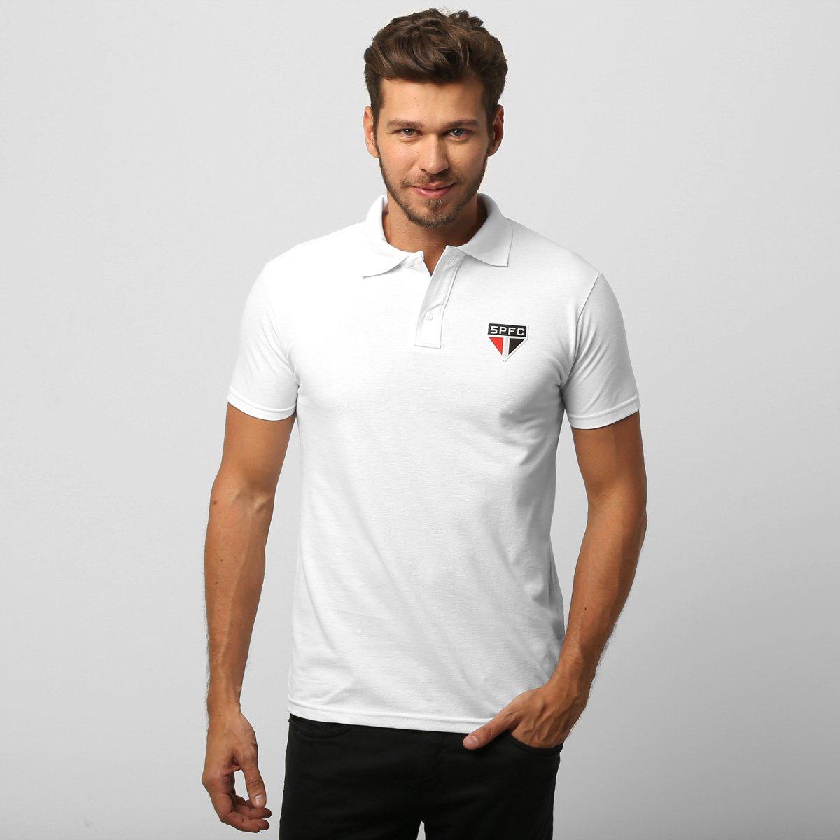 be2e505fd9 Camisa Polo São Paulo Piquet