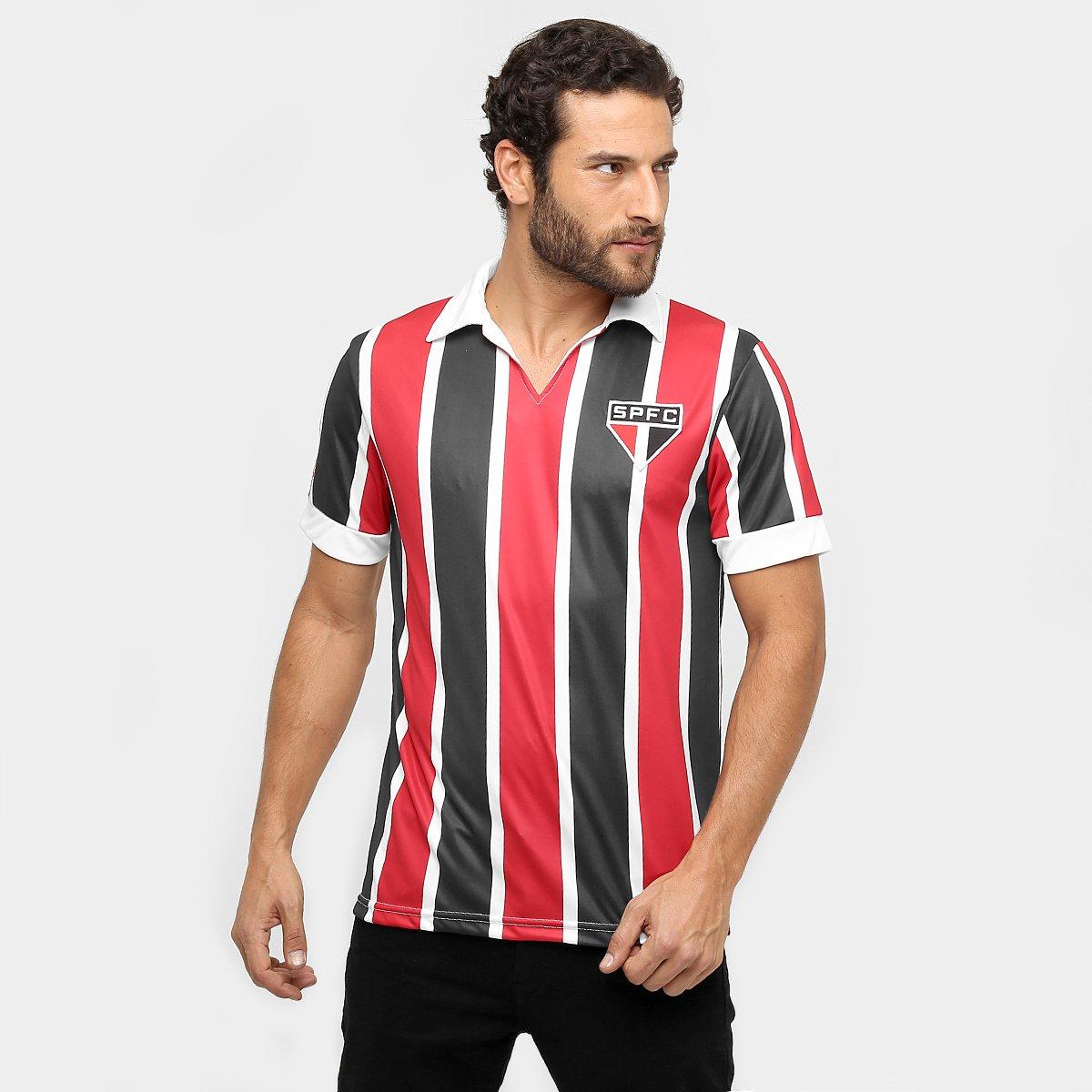 c1725589807ca Camisa Polo São Paulo Réplica 1957 Masculina - Compre Agora