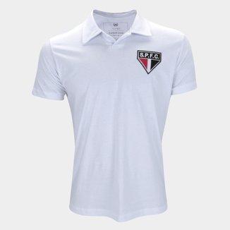 Camisa Polo São Paulo Retrô Mania Masculina