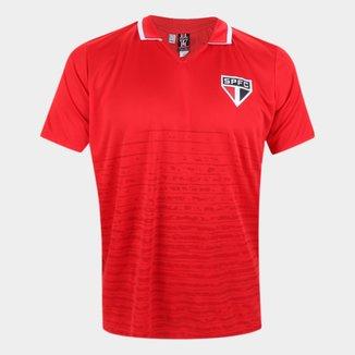 Camisa Polo São Paulo Saw Masculina