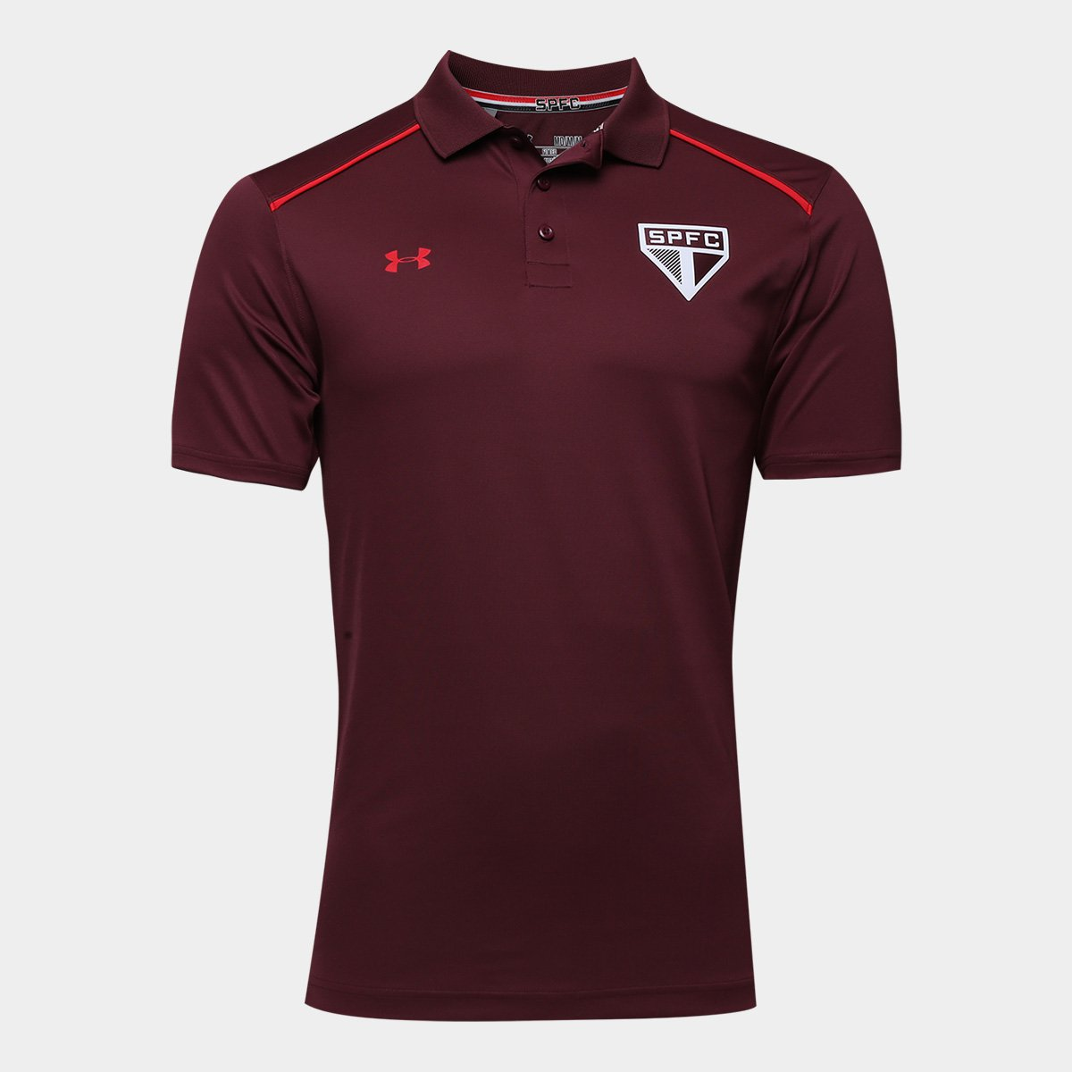 Camisa Polo São Paulo Under Armour 17 18 Viagem Masculina - Compre ... 3bce6562891f2