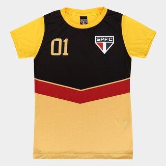 Camisa São Paulo 100 Gols Feminina