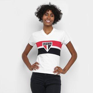 Camisa São Paulo 1980 Retrô Mania Feminina
