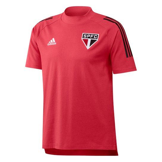 Camisa São Paulo 21/22 Adidas Masculina - Vermelho