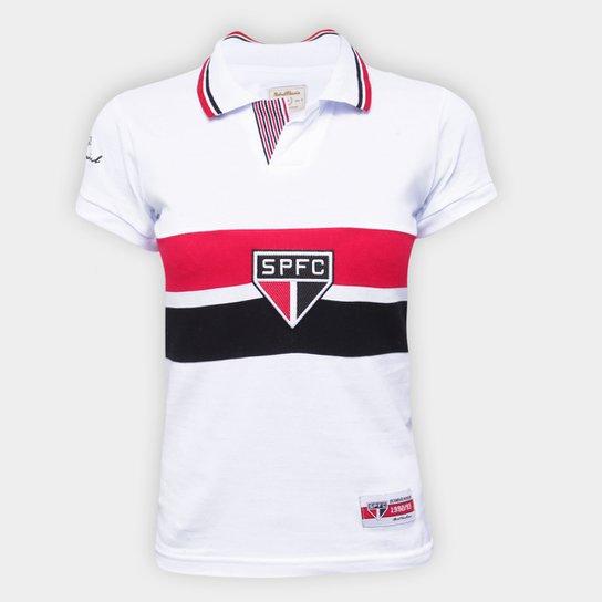 Camisa São Paulo 92/93 Bi Mundial Retrô Mania Feminina - Branco