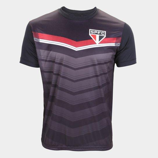 Camisa São Paulo Britt Masculina - Preto