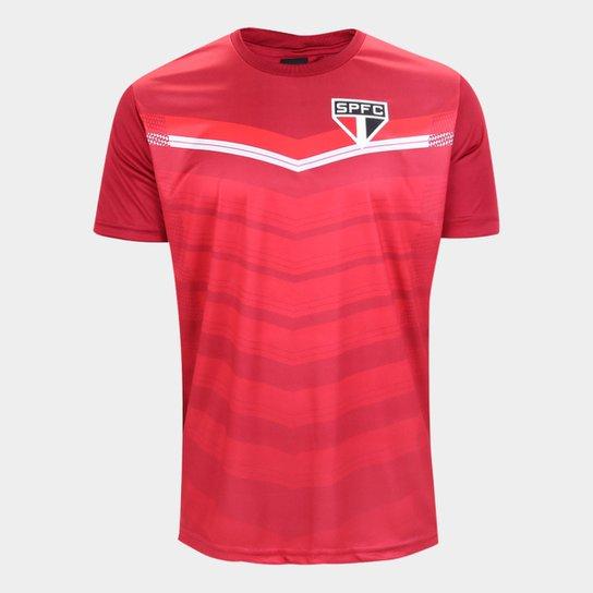 Camisa São Paulo Britt Masculina - Vermelho
