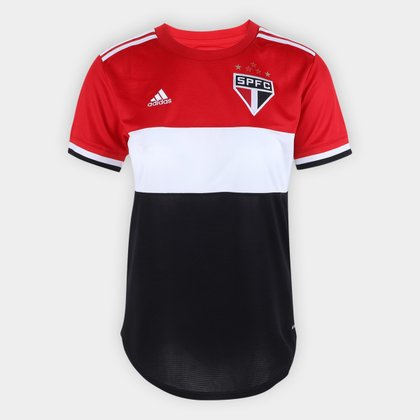 Camisa São Paulo Feminina Tricolor 21/22 s/n° Torcedor Adidas