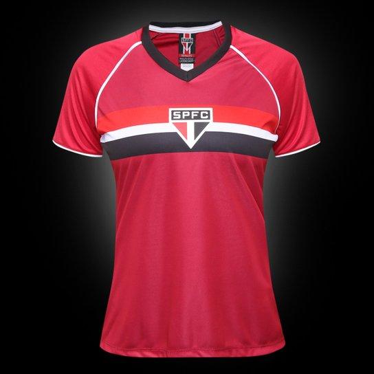 Camisa São Paulo GK Edição Limitada Feminina - Vermelho