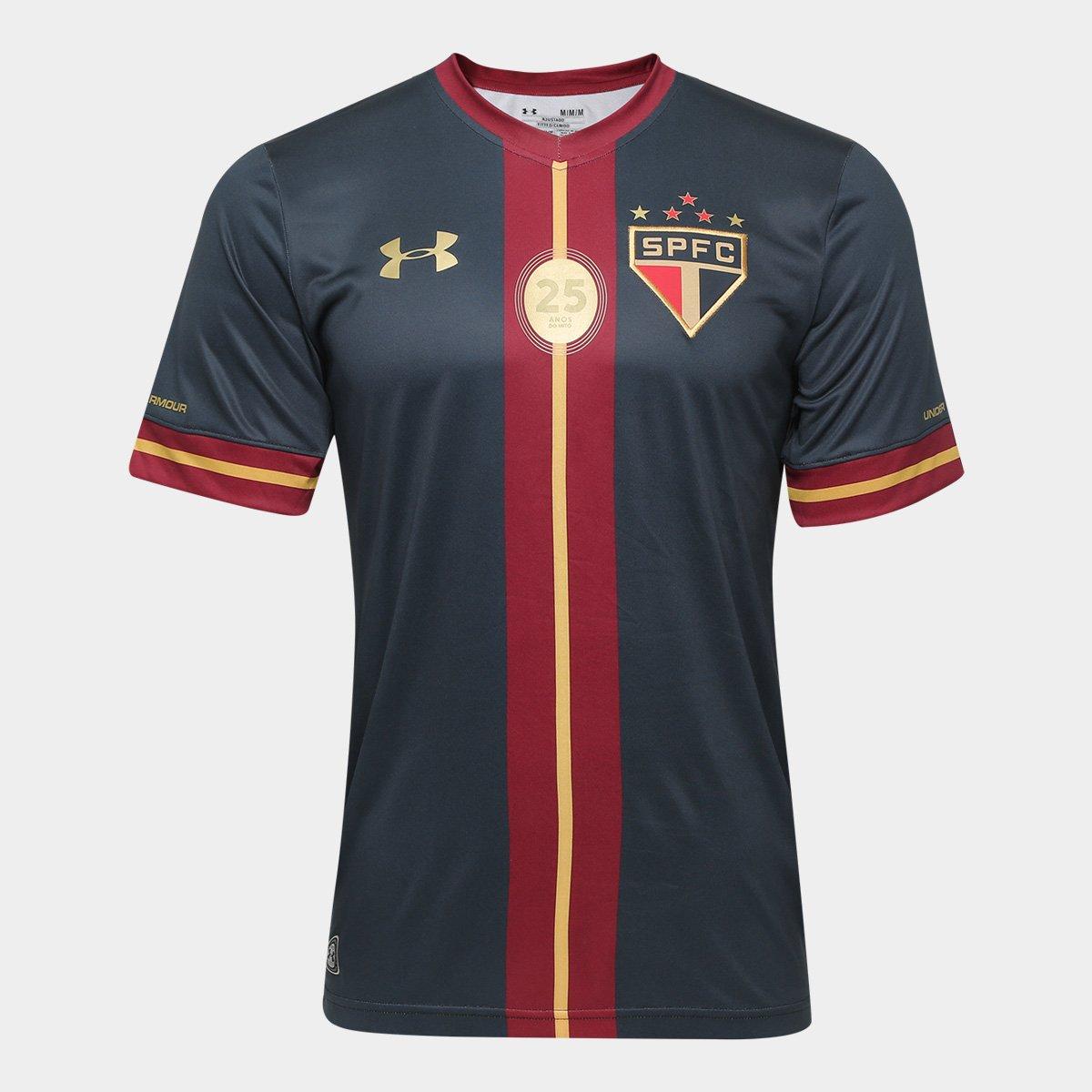 5b0bd4b3bd8 Camisa São Paulo Goleiro III 15 16 nº 01 R.Ceni - Edição Especial Under  Armour Masculina - Compre Agora