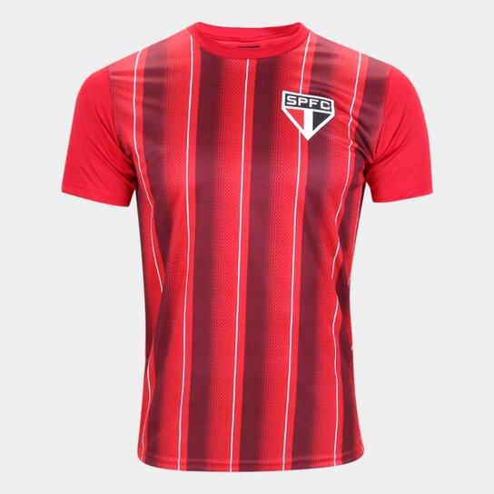 Camisa São Paulo Handley Masculina - Vermelho
