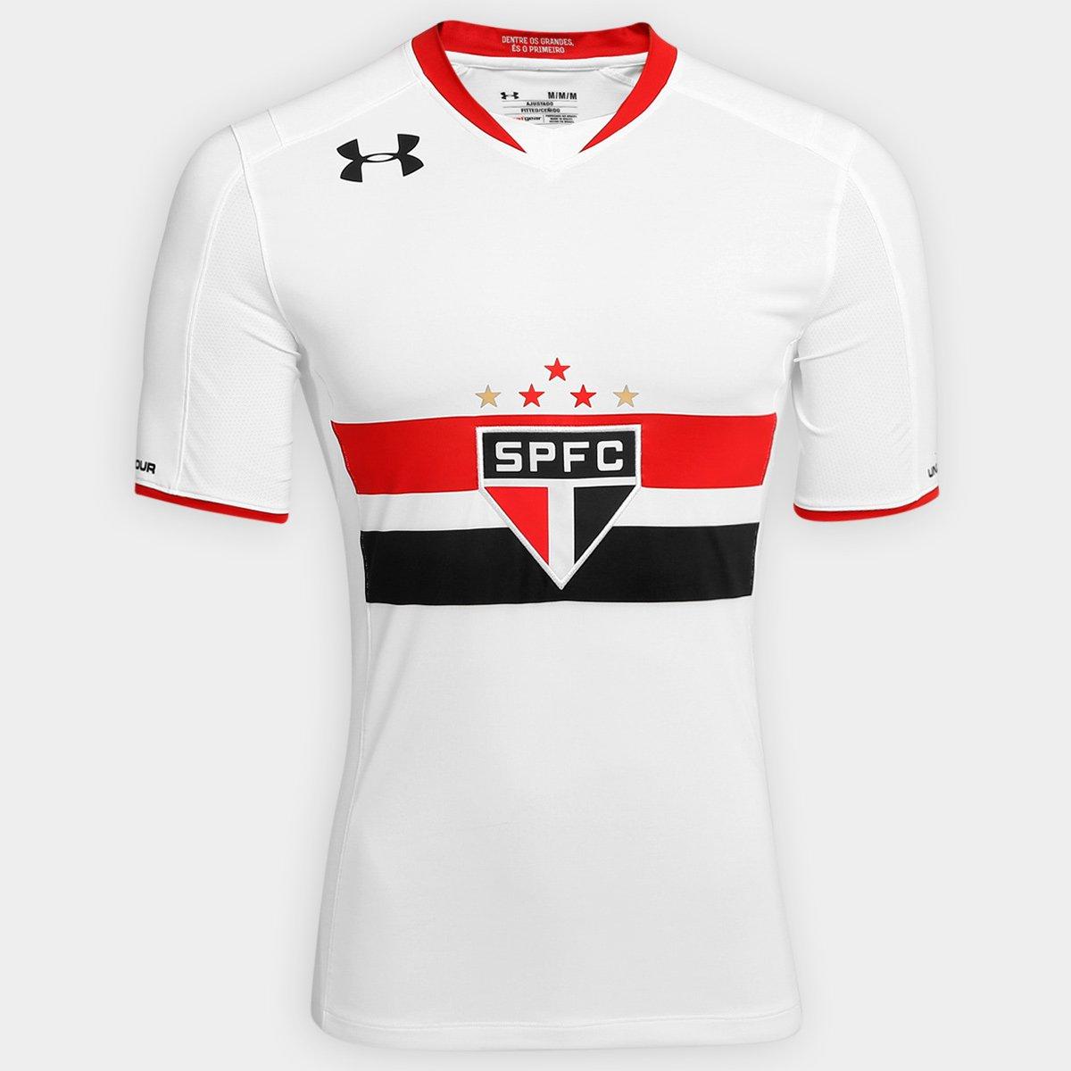 c115807a2e5 Camisa São Paulo I 15 16 s nº Jogador Under Armour Masculina - Compre Agora