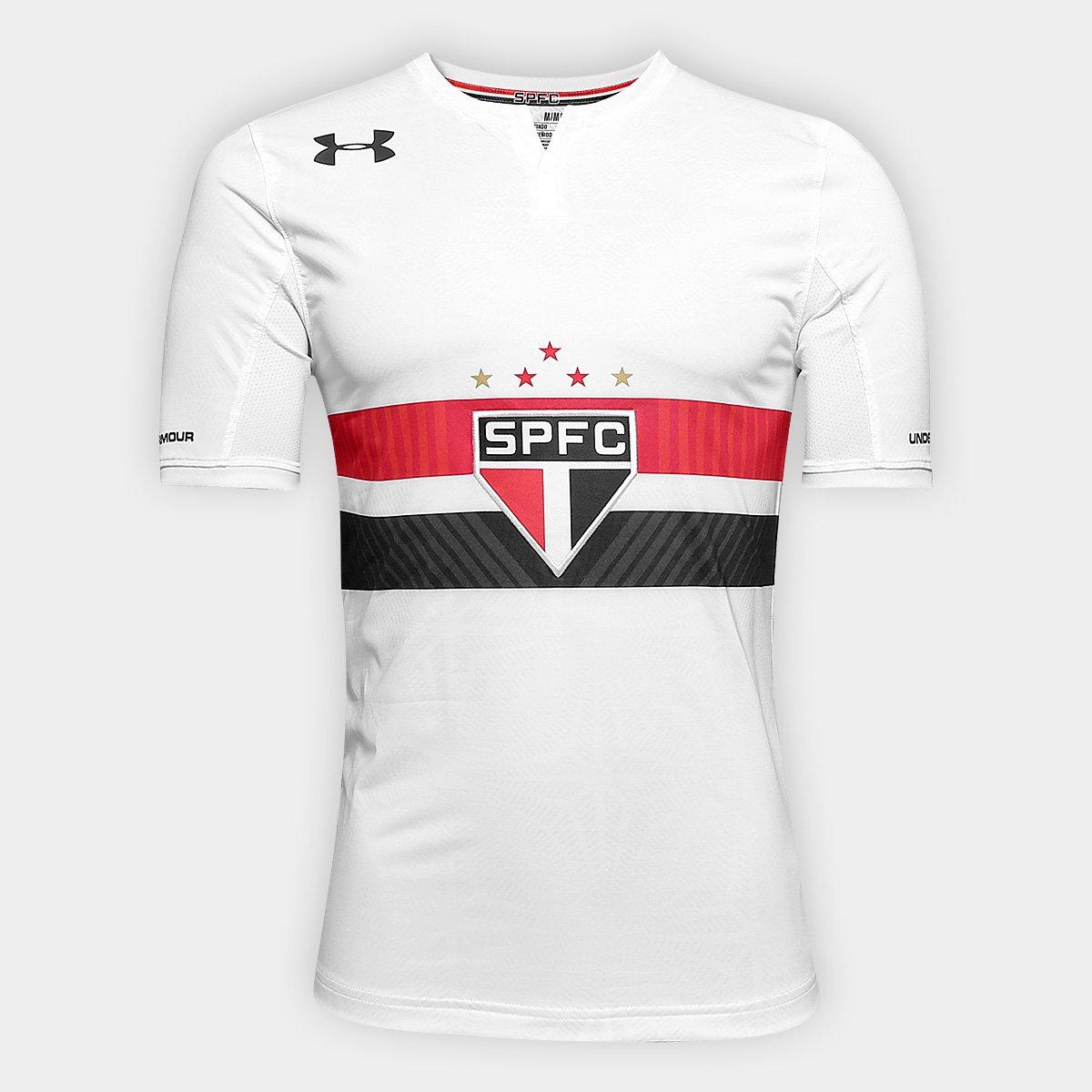 Camisa São Paulo I 17 18 s nº Jogador Under Armour Masculina ... 6c51540138f28