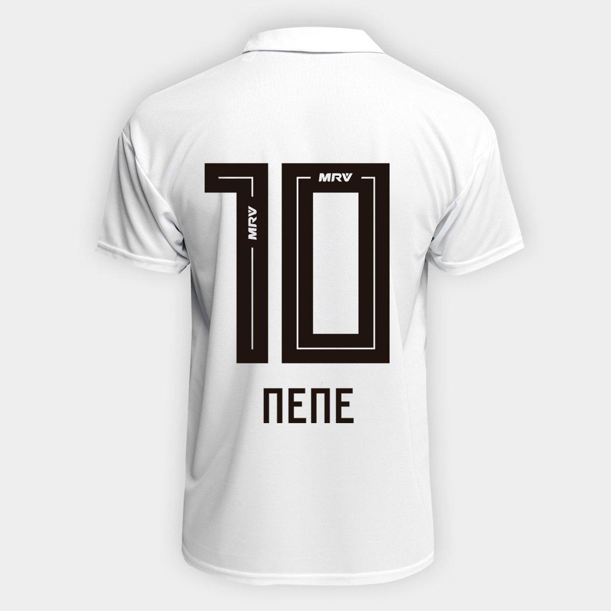 Camisa São Paulo I 2018 n° 10 Nene Torcedor Adidas Masculina ... 2e211fc70295b