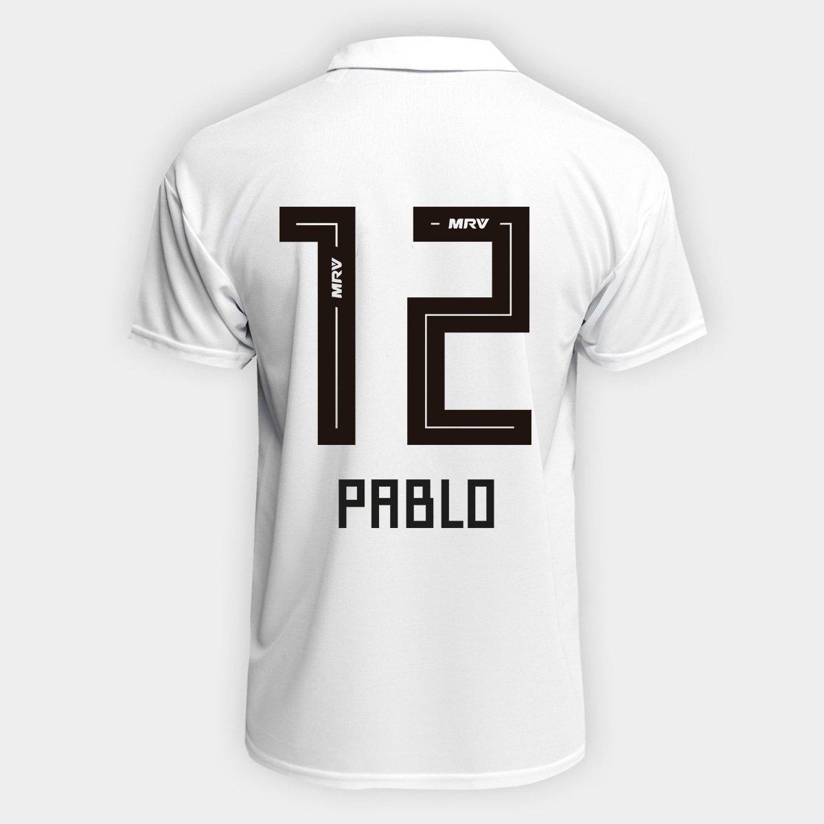 810757b0bde Camisa São Paulo I 2018 n° 12 Pablo Torcedor Adidas Masculina - Compre  Agora