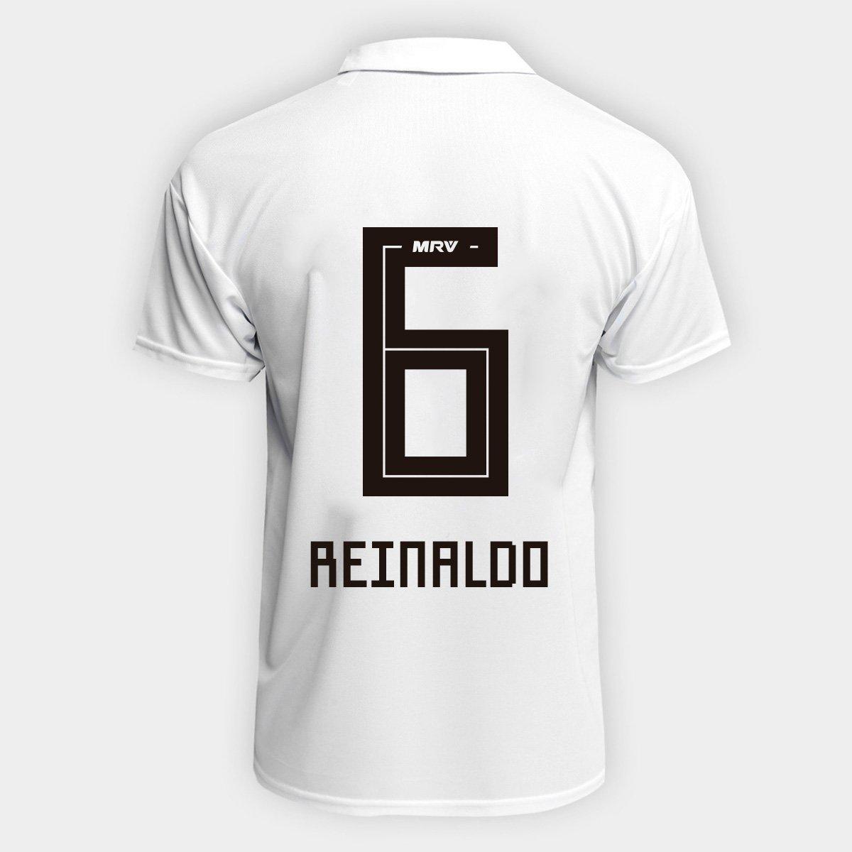 Camisa São Paulo I 2018 n° 14 Reinaldo Torcedor Adidas Masculina - Branco e  Vermelho - Compre Agora  4ab58619dc3ce