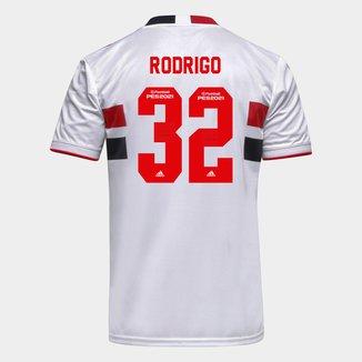 Camisa São Paulo I 21/22 Rodrigo Nº 32 Torcedor Adidas Masculina