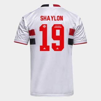 Camisa São Paulo I 21/22 Shaylon Nº 19 Torcedor Adidas Masculina