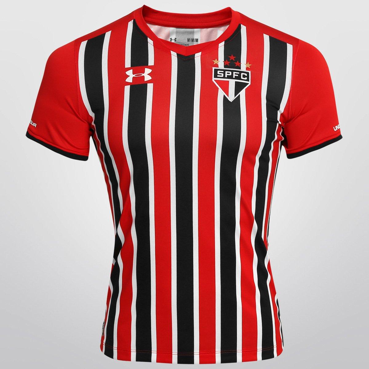 6ff5c0cb531 Camisa São Paulo II 15 16 s n°- Torcedor Under Armour Feminina - Compre  Agora