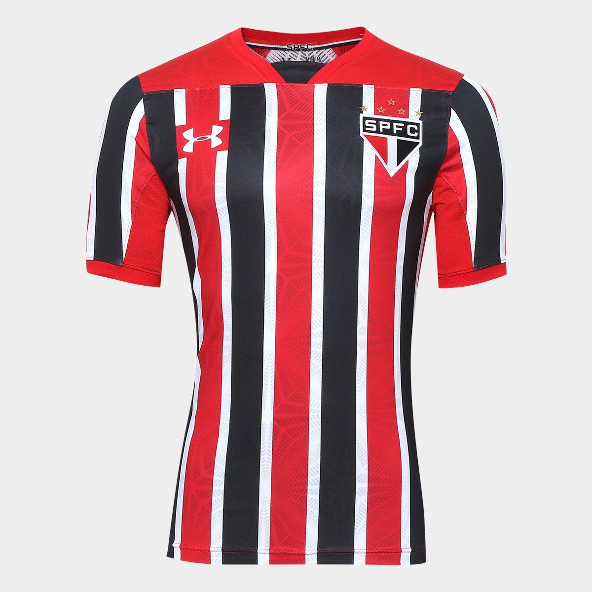 ac8935061bf Camisa São Paulo II 17 18 s nº Jogador Under Armour Masculina