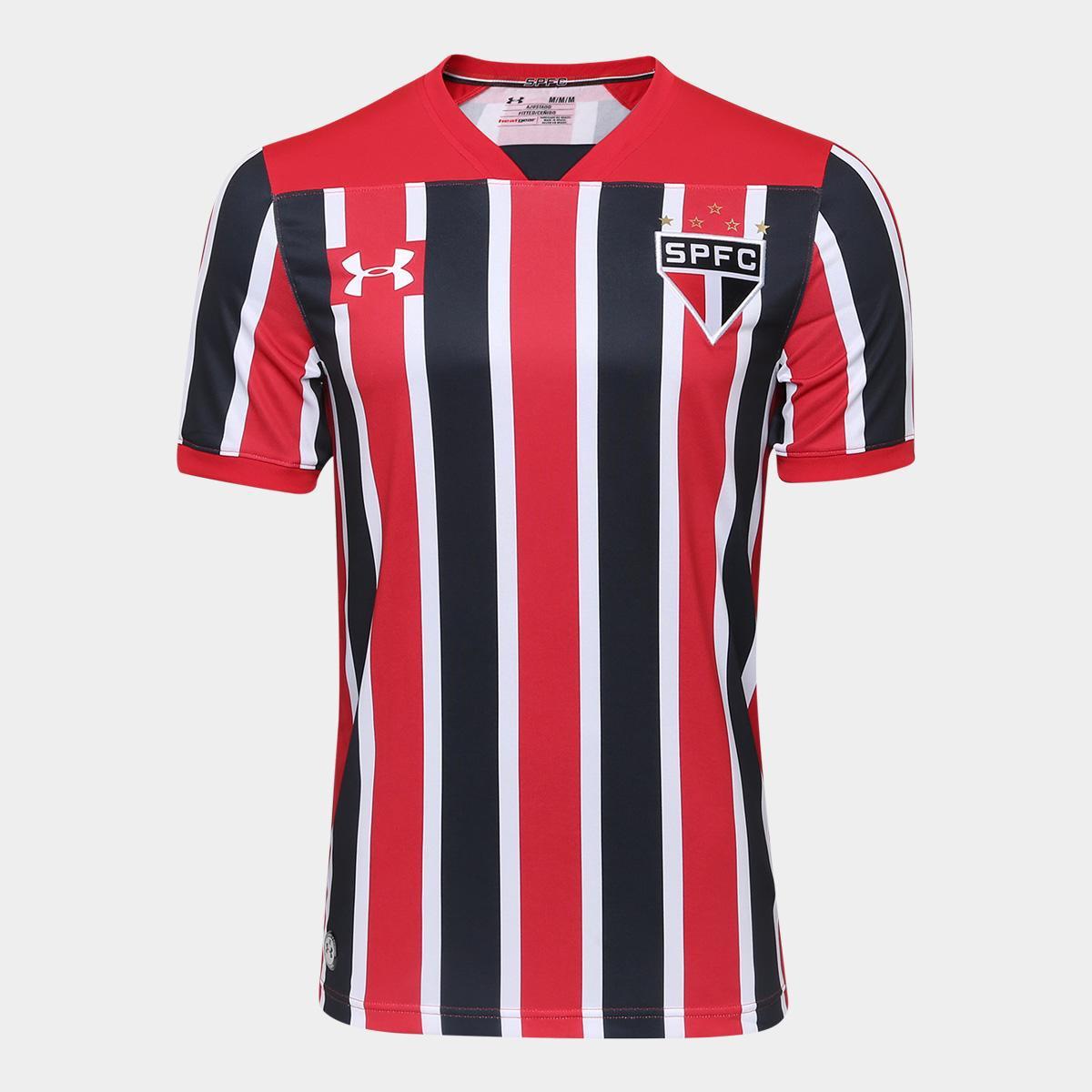 49fc8e88b6252 Camisa São Paulo II 17/18 s/nº Torcedor Under Armour Masculina | São Paulo  Mania
