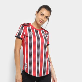 Camisa São Paulo II 19/20 s/nº Torcedor Adidas Feminina