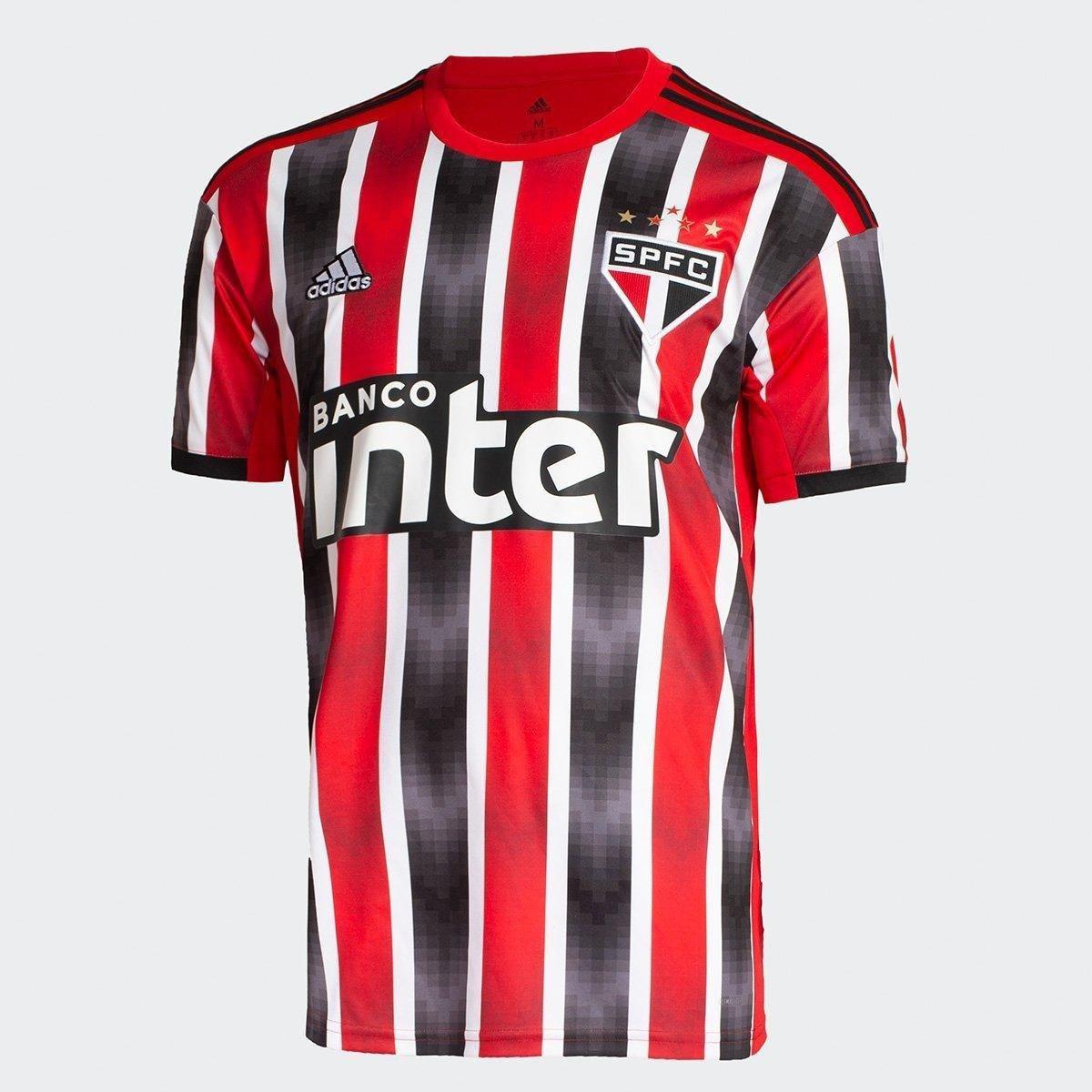 3f3af97471 Camisa São Paulo II 19/20 s/nº Torcedor Adidas Masculina - Vermelho e Branco  | São Paulo Mania