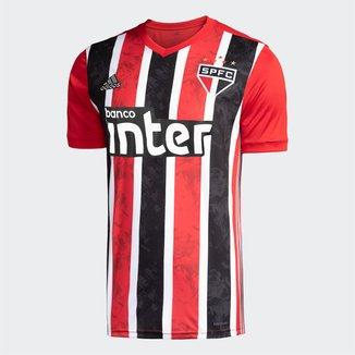 Camisa São Paulo II 20/21 s/nº Torcedor c/ Patrocínio Adidas Masculina