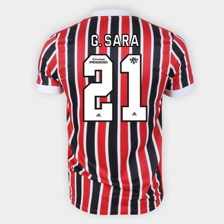 Camisa São Paulo II 21/22 G. Sara Nº 21 Torcedor Adidas Masculina