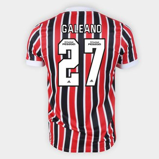 Camisa São Paulo II 21/22 Galeano Nº 27 Torcedor Adidas Masculina
