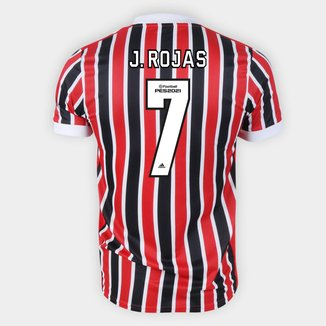 Camisa São Paulo II 21/22 J. Rojas Nº 7 Torcedor Adidas Masculina