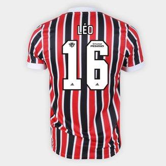 Camisa São Paulo II 21/22 Léo Nº 16 Torcedor Adidas Masculina