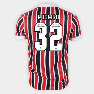 Camisa São Paulo II 21/22 Rodrigo Nº 32 Torcedor Adidas Masculina