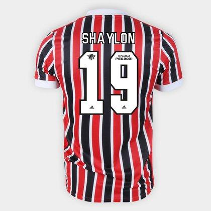 Camisa São Paulo II 21/22 Shaylon Nº 19 Torcedor Adidas Masculina