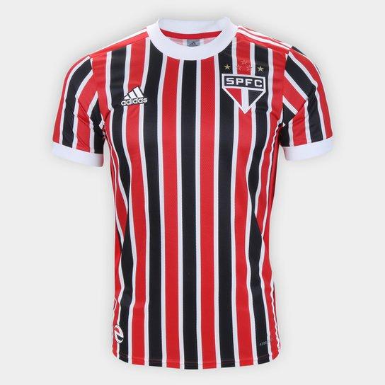 Camisa São Paulo II 21/22 s/n° Torcedor Adidas Masculina - Vermelho+Branco