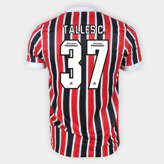 Camisa São Paulo II 21/22 Talles C. Nº 37 Torcedor Adidas Masculina