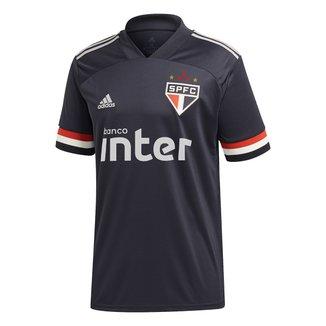 Camisa São Paulo III 20/21 s/n° c/ Patrocínio Torcedor Adidas Masculina