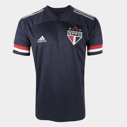 Camisa São Paulo III 20/21 s/n° Torcedor Adidas Masculina