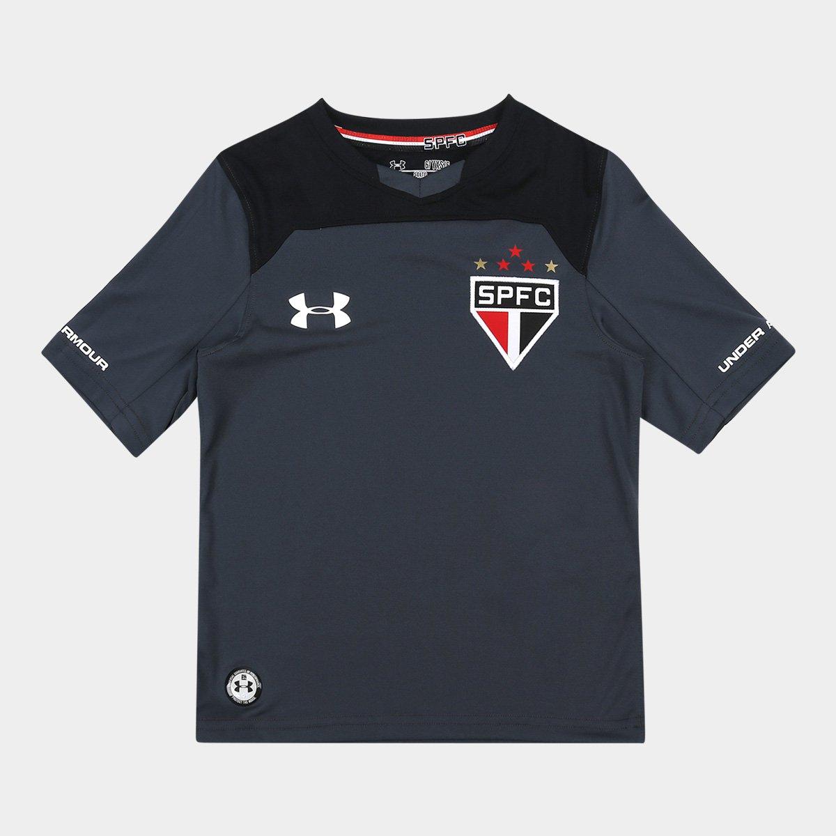 e6b2c06d8 Camisa São Paulo Infantil Goleiro 17/18 s/nº Under Armour | São Paulo Mania
